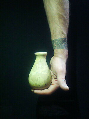EGYPTIAN ANTIQUES ANTIQUITY Pharaoh Pharaonic Small Stone Vase 3150-2514 BC