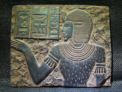 EGYPTIAN ANTIQUES ANTIQUITY Seti I Stela Relief Stele Stelae 1290-1279 BC