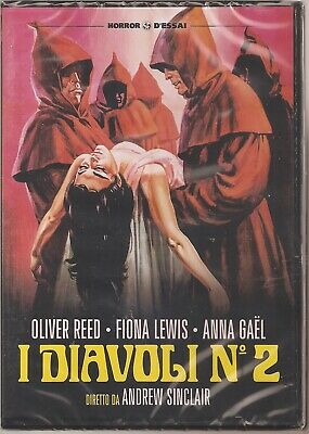 I Diavoli N° 2 Aristocrazia Immorale Dvd 1974 Blue Blood A. Sinclair Oliver Reed