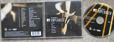 VERY BEST OF MTV UNPLUGGED CLAPTON STING McCARTNEY REM ROD KD LANG NOEL GALLAGHE