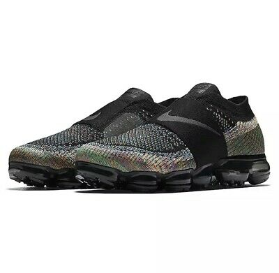 Authentic Nike Air VaporMax Flyknit Rainbow Men's Running Shoes Size 11