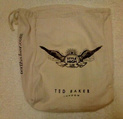 Ted Baker Style High Club Cotton Drawstring Dust Bags