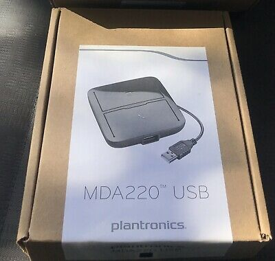 Plantronics MDA220 USB NEW Desk Phone/Softphone Switch Power Adapter for Headset