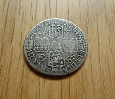 George I Silver Shilling 1723 Ssc French Arms At Date Great Britain Uk