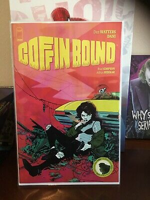COFFIN BOUND #1 AUGUST 2019 SOLD OUT IMAGE COMIC BOOK NEW Gemini Mailer