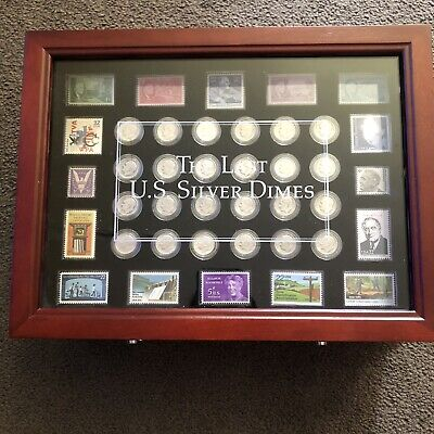 US Roosevelt Silver Dimes Complete Collection 1946-1964