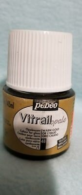 Pebeo 050-048CAN Vitrail Stained Glass Effect Glass Paint 45-Milliliter Bottle,