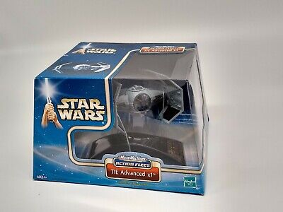 Star Wars Action Fleet Micro Machines Tie Advanced x1 Factory Sealed