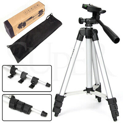 Professional Camera Tripod for DSLR Canon Nikon Sony Camcorder Stand Lightweight