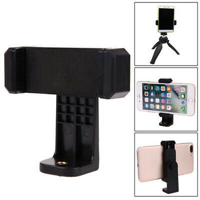 UK Universal Cell Phone Smartphone Tripod Mount Adapter Stand Clip Holder New