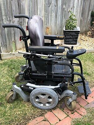 Quickie Pulse 6 Electric Powered Wheelchair.