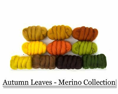 Autumn Leaves Merino Collection