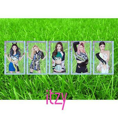 Kpop ITZY HD Collective Card Ryujin Yeji Photocard IT'z ICY PVC Clear Photo Card