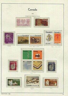 Canada QEII 1972-75 collection