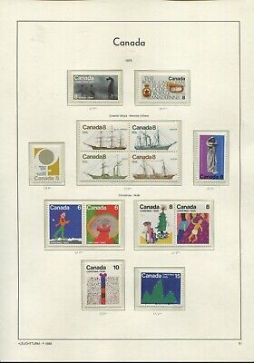 Canada QEII 1975-79 collection