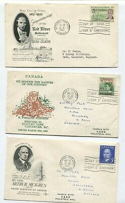 Canada First day cover collection