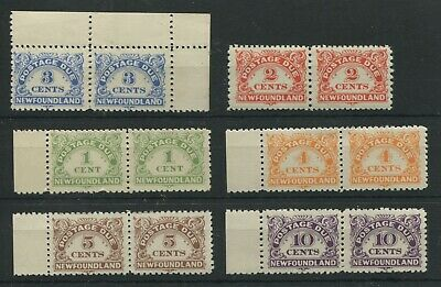 Newfoundland 1939 dues in pairs