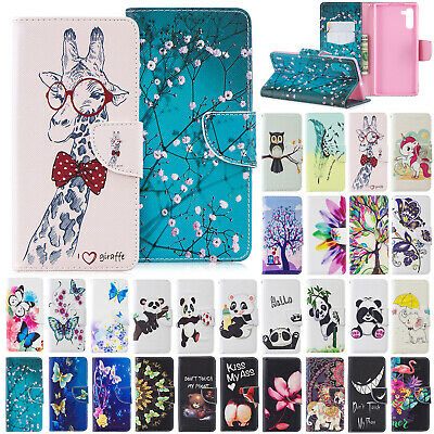 For Samsung Galaxy Note 10+ Plus Case Magnetic Flip Leather Stand Wallet Cover