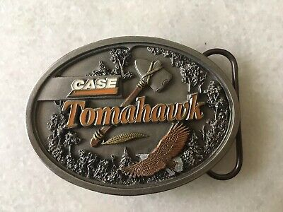 Case 'Tomahawk' Belt Buckle