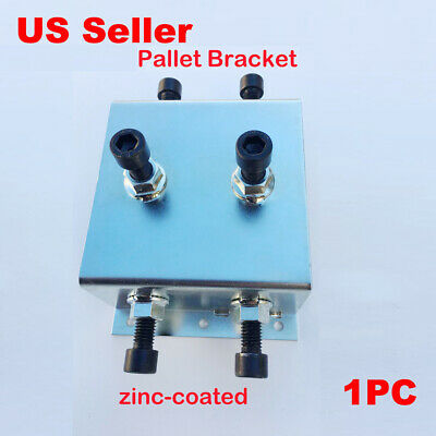 Zine Coated Galvanized Pallet Bracket for Support Silk Screen Printing DIY Tool