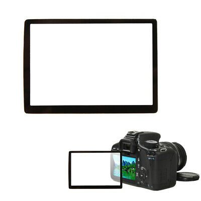 LCD Hard Optical Glass Screen Protector For Canon 40D 50D 5D Mark II Camera MI