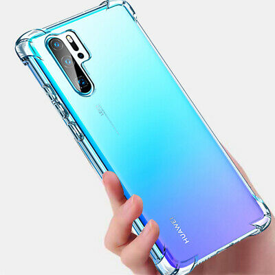 Shockproof Bumper Transparent Silicone Case Cover For Huawei P30 Y5 Y6 Y7 2019