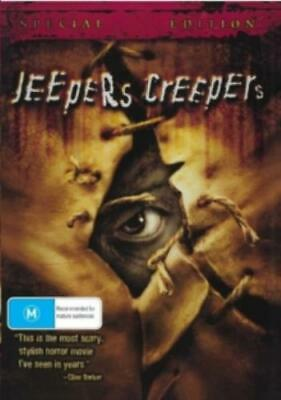 JEEPERS CREEPERS 1 (Region 1 DVD,US Import,sealed.)