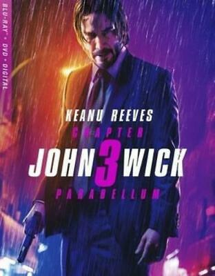 JOHN WICK: CHAPTER 3 - PARABELLUM (Region A BluRay,US Import,sealed.)