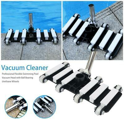 Vacuum Cleaning Brush Swimming Pool Spa Pond Fountain Dirt Suction Cleaner Tool