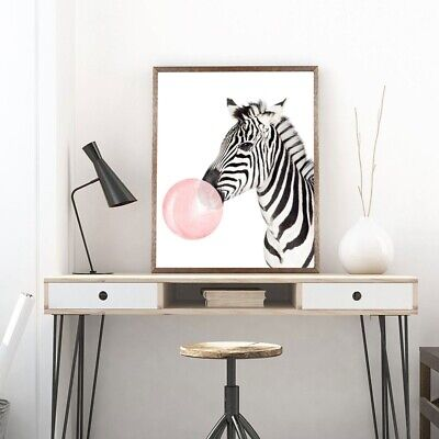 Animal Poster Decorative Painting Wall Decor Bar Cafe Bedroom Mural Art No frame