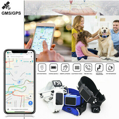 MINI D35 Waterproof Pet Collar GPS GPRS Tracker Real time Locator for Dogs Cats