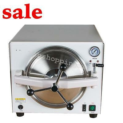 Medical  18L 110V/220V Steam Sterilizer Dental Lab Sterilizer Lab Equipment DHL