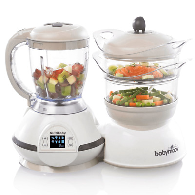 BabyMoov Nutribaby Food Processor – Cream - Warehouse Clearance