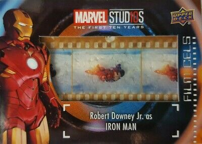 2019 Marvel Studios First Ten Years FILM CELS Relic Card FC-2 IRON MAN