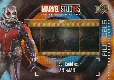 2019 Marvel Studios First Ten Years FILM CELS Relic Card FC-11 ANT-MAN
