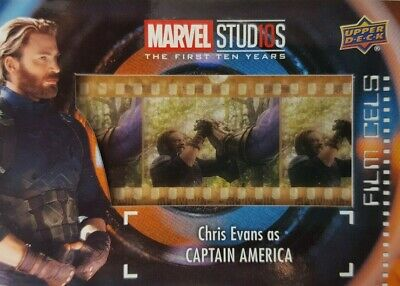2019 Marvel Studios First Ten Years FILM CELS Relic Card FC-18 CAPTAIN AMERICA