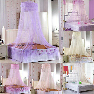 Princess Mosquito Net Fly Protection Bed Double King Canopy Netting