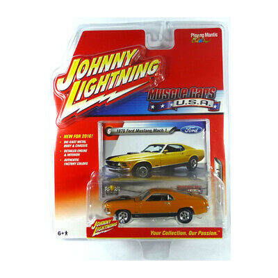 Johnny Lightning Musclecars USA 1970 Ford Mustang Mach 1 N8
