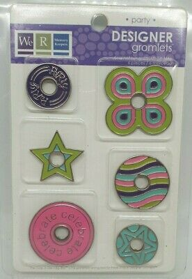 We R Memory Keepers - Huge Designer Gromlets - PARTY (for Crop-A-Dile)