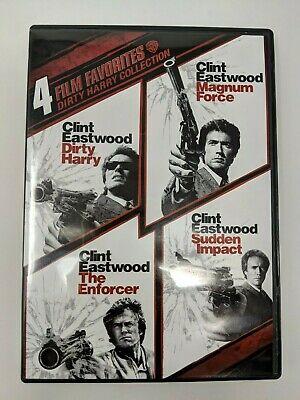 Dirty Harry Collection 4 Film Favorites DVD Clint Eastwood