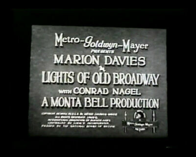 DVD Lights of Old Broadway (Monta Bell, 1925) Marion Davies, Conrad Nagel