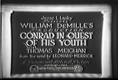 DVD CONRAD IN QUEST OF HIS YOUTH (William C. deMille,1920) Thomas Meighan,