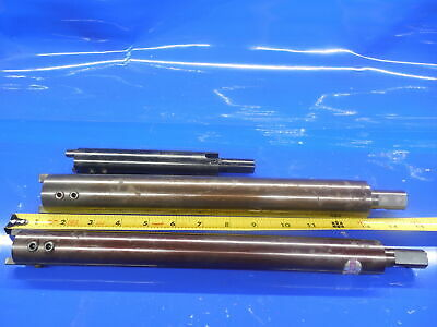 Lot Of 3 Showa Tool Super Drill Extensions 5/8 & .885 Dia .625 Holders W/ Screws