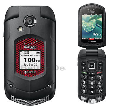 KYOCERA DURAXV LTE E4610 4G LTE Flip Black (Verizon)Rugged