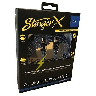 Stinger XI1212 12FT Directional Twisted Pair Interconnect