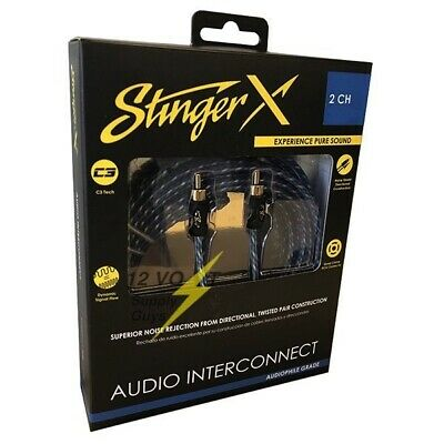 Stinger XI1220 20FT Directional Twisted Pair Interconnect