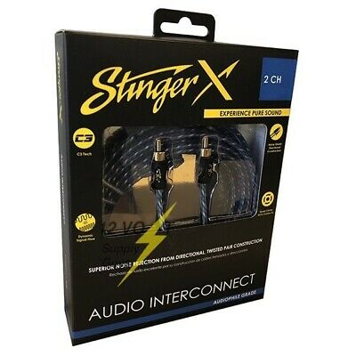 Stinger XI123 3FT Directional Twisted Pair Interconnect