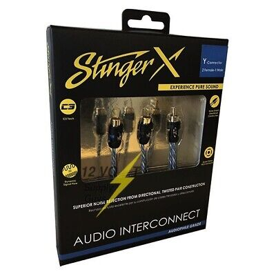 Stinger XI12YF Y-2 Female 1 Male Directional Twisted Pair Interconnect