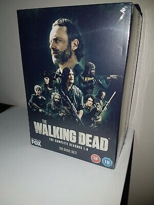 The Walking Dead. The complete seasons 1-8. 39 Disc Set. BRAND NEW/SEALED