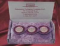 Communion-Celebration Cup Prefilled Juice/Wafer-(Visitation) Box Of 3